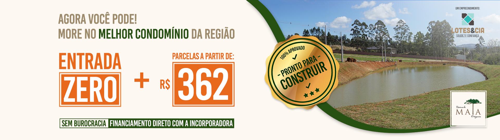 Lotes condomínios fechados em Ortigueira - Reserva da Mata